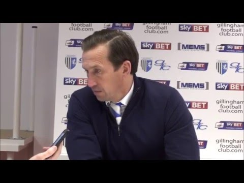 Justin Edinburgh post-Shrewsbury