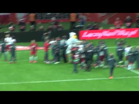 Polska vs Irlandia 2:1 wszystkie bramki + oprawa MAMY EURO 2016