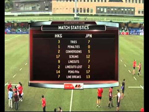 Asian Five Nations Highlights - Hong Kong v Japan - Asian Five Nations Hong Kong v Japan Highlights