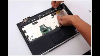 HP PAVILION DV1000 노트북 분해(Laptop disassembly)