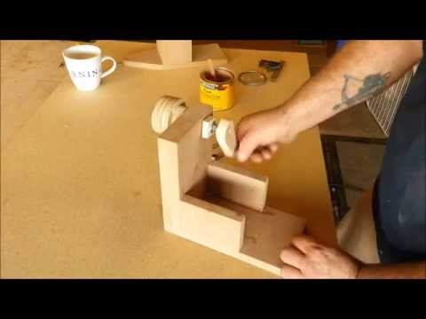 How To Make Wood Balls With A Router - Jig Build