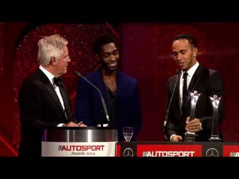 Lewis Hamilton - International Racing Driver of the Year - AUTOSPORT Awards 2014