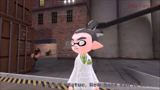 【Splatoon X Doctor Who X TF2 GMOD】 Attack Of A Weeping Angel