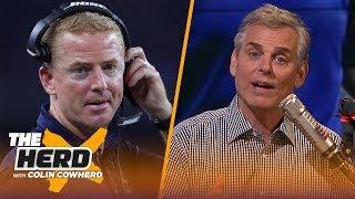 Colin Cowherd talks Jason Garrett's job status, Malcolm Butler's struggles   NFL   THE HERD