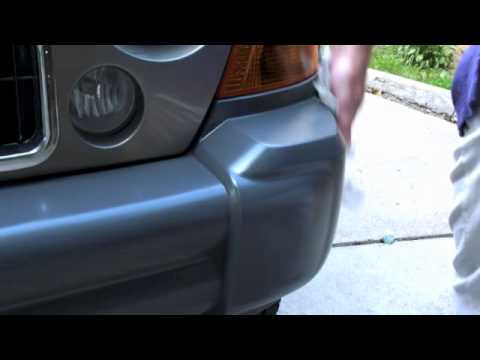 Restore That Old Faded Bumper Quick Easy And Cheap Youtube