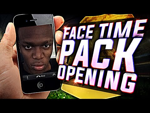FIFA 15 - FACETIME PACK OPENING!!!