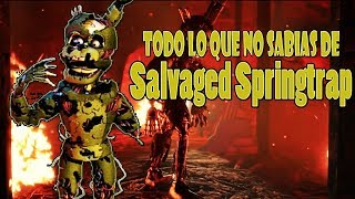 Salvaged Springtrap | Freddy Fazbear