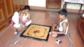How to play carrom board game india amazing games