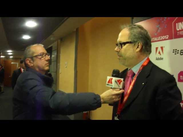 BUSINESS DIGITALE ADNKRONOS INTERVISTA MICHELE FICARA - FORUM DIGITALE 2012