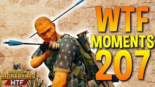 PUBG Daily Funny WTF Moments Highlights Ep 207 (playerunknown's battlegrounds Plays)
