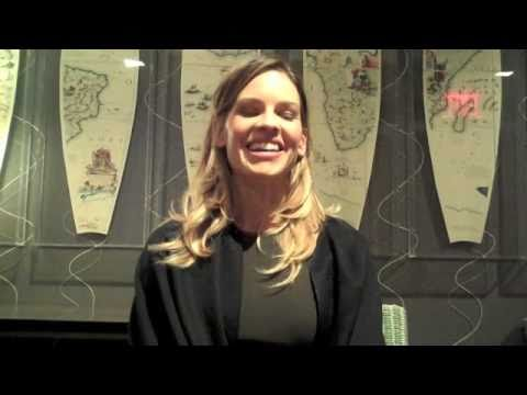 Scott Feinberg Interviews Hilary Swank (Part 1 of 3)