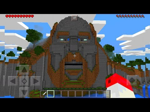 SEED DEL TEMPLO DE NOTCH REAL EN MINECRAFT PE 1.2 - NOTCH ES REAL EN MCPE 1.2