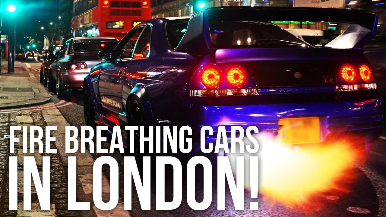 Car Flames Flame Thrower Car Battle in
