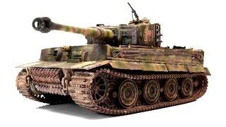 Panzerkampfwagen VI Tiger Late 1/35 Academy Tank Model