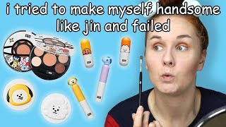 Unboxing and reviewing BT21 x VT Cosmetics makeup