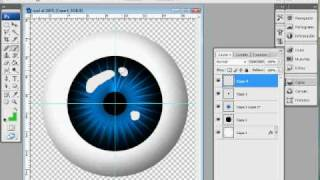 Como hacer ojo virtual con photoshop tutotial