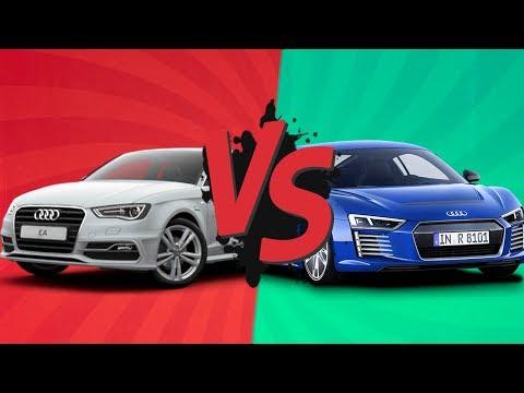 Самая дешевая Audi VS самая дорогая! Битва титанов №2!