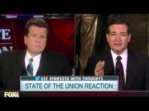Sen. Ted Cruz Reaction to 2015 SOTU with Neil Cavuto
