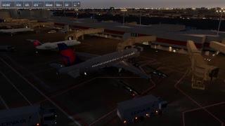 X-Plane 11 | KCVG - KATL - Toliss A319