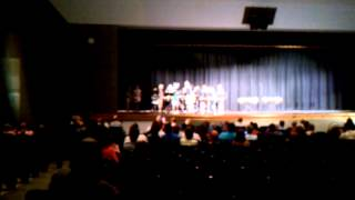Middle School at Parkside summer band 2011 drumline Briley