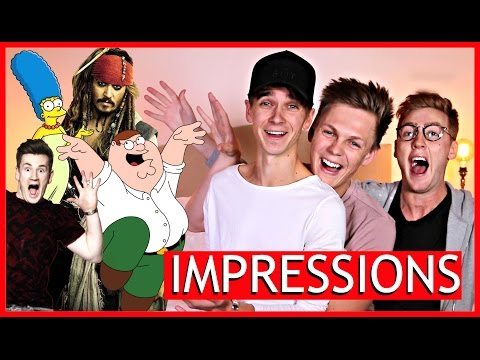 Ultimate Impressions Challenge Ft Joe Sugg Josh Pieters