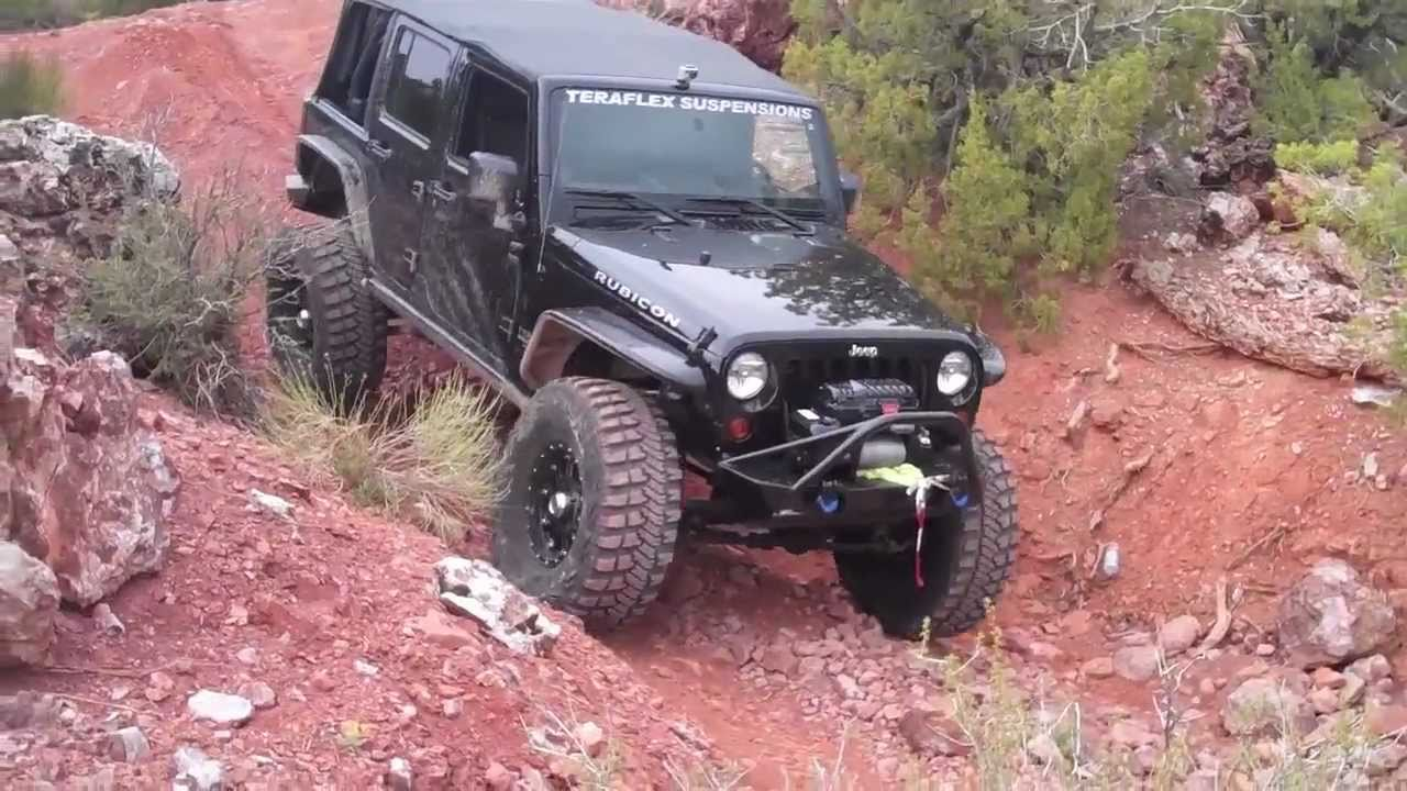 Black Jeep Rubicon Off Road Area Bfe Moab Easter Jeep