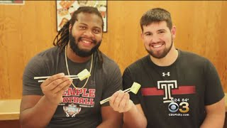 Temple Football Visits Japan