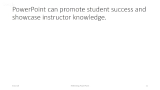 9:00am Room 205: Anna Lee - Rethinking PowerPoint Presentations in Face-to-face and Online Classes