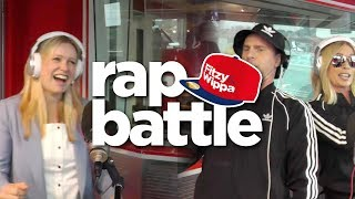 Sonia Kruger and David Campbell RAP BATTLE