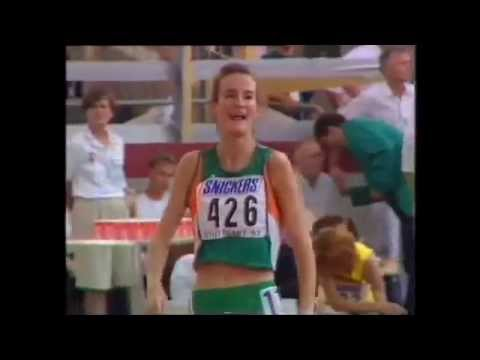 1993, Sonia O'sullivan, World Championships, 1500m, Stuttgart video