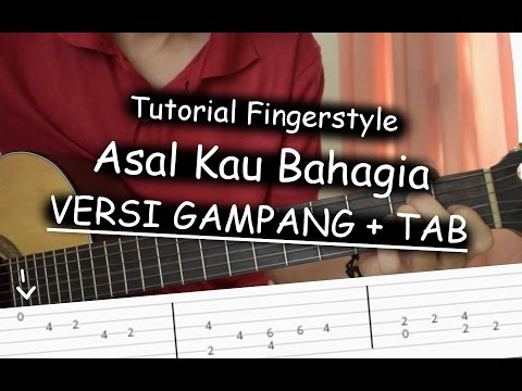download lagu Belajar Fingerstyle Asal Kau Bahagia - A gratis