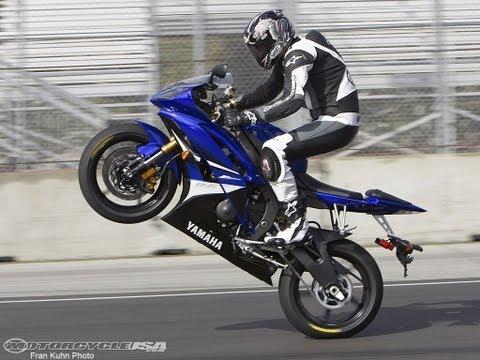 2008 Yamaha YZF-R6 - Sportbike First Ride - MotoUSA