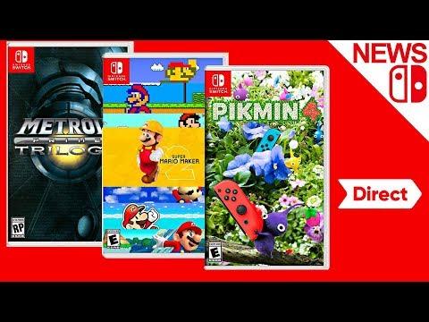 Metroid Prime Trilogy. Pikmin 4. Super Mario Maker 2 & Nintendo Direct [Rumor] - Nintendo News