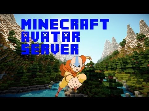 Minecraft: Avatar Server 1.7.9 (EarthBend, FireBend, Waterbend, AirBend)