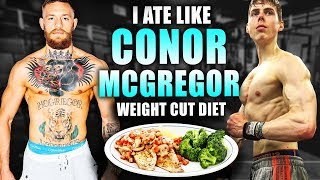I ate like *CONOR McGREGOR* for 24 hours... (IT SUCKED)