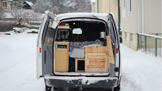 How To Live In A VW Caddy Maxi - A Mobile Home