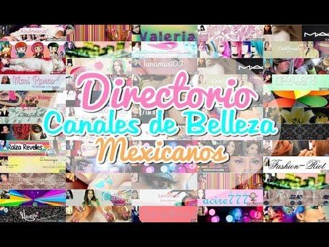 Directorio Canales de Belleza Mexicanos