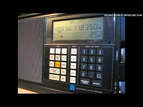 Vintage DX: Radio Japan German Service 1989 (Sign On with Interval Signal)