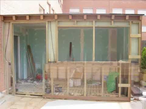 Cerramientos de terrazas en madera 1 youtube - Cerramiento de madera ...