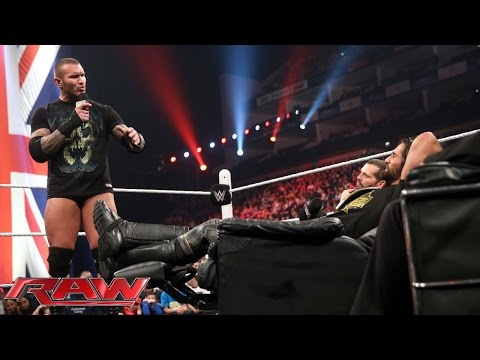 Randy Orton And Seth Rollins' Extreme Decision: Raw, April 13, 2015 video