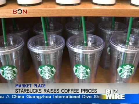 Starbucks raises coffee prices - Biz Wire: Feb.2 - BON TV China