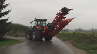 VALTRA + NEW HOLLAND + FENDT ORKA I SIEW RZEPAKU