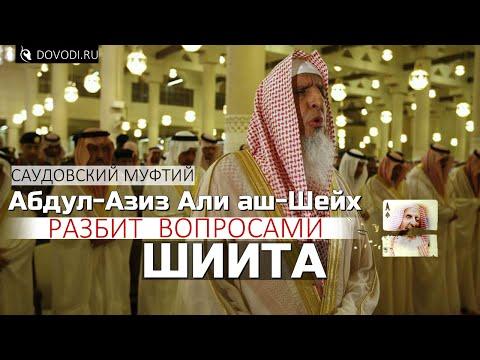Главный муфтий Саудовской Аравии Абдул-Азиз Али аш-Шейх разбит вопросами шиита