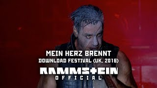 Rammstein Mein Herz Brennt Live At Download Festival UK 2016 VideoMp4Mp3.Com