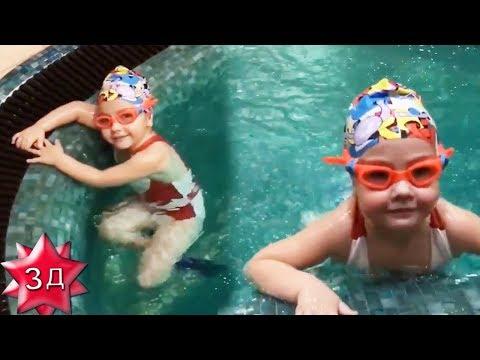 ДОЧЬ ПУГАЧЕВОЙ И ГАЛКИНА Лиза Галкина плавает и ныряет, как рыбка!