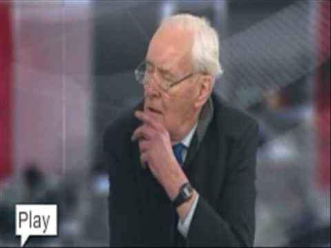 Tony Benn Savages BBC News!  (Gaza aid)