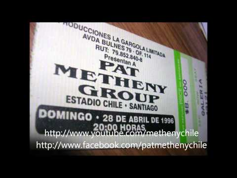 Pat Metheny Group Chile 1996 - 08. When Nignt Turns Into Day (AUDIO)