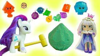 Surprise Diamond Dig It - Rainbow Gemlins Gemstones with My Little Pony + Shoppies Gemma Stone
