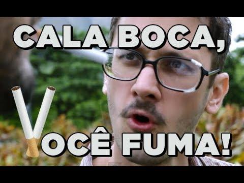 Amada Foca: Cala Boca, você fuma!