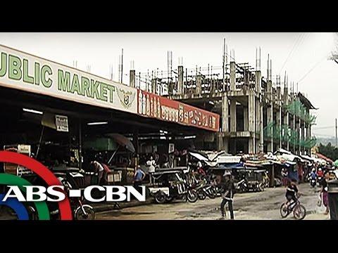 Konstruksyon ng Taytay public market, nabinbin